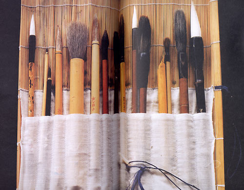 Painting t'chan & sumi-e, The brushes